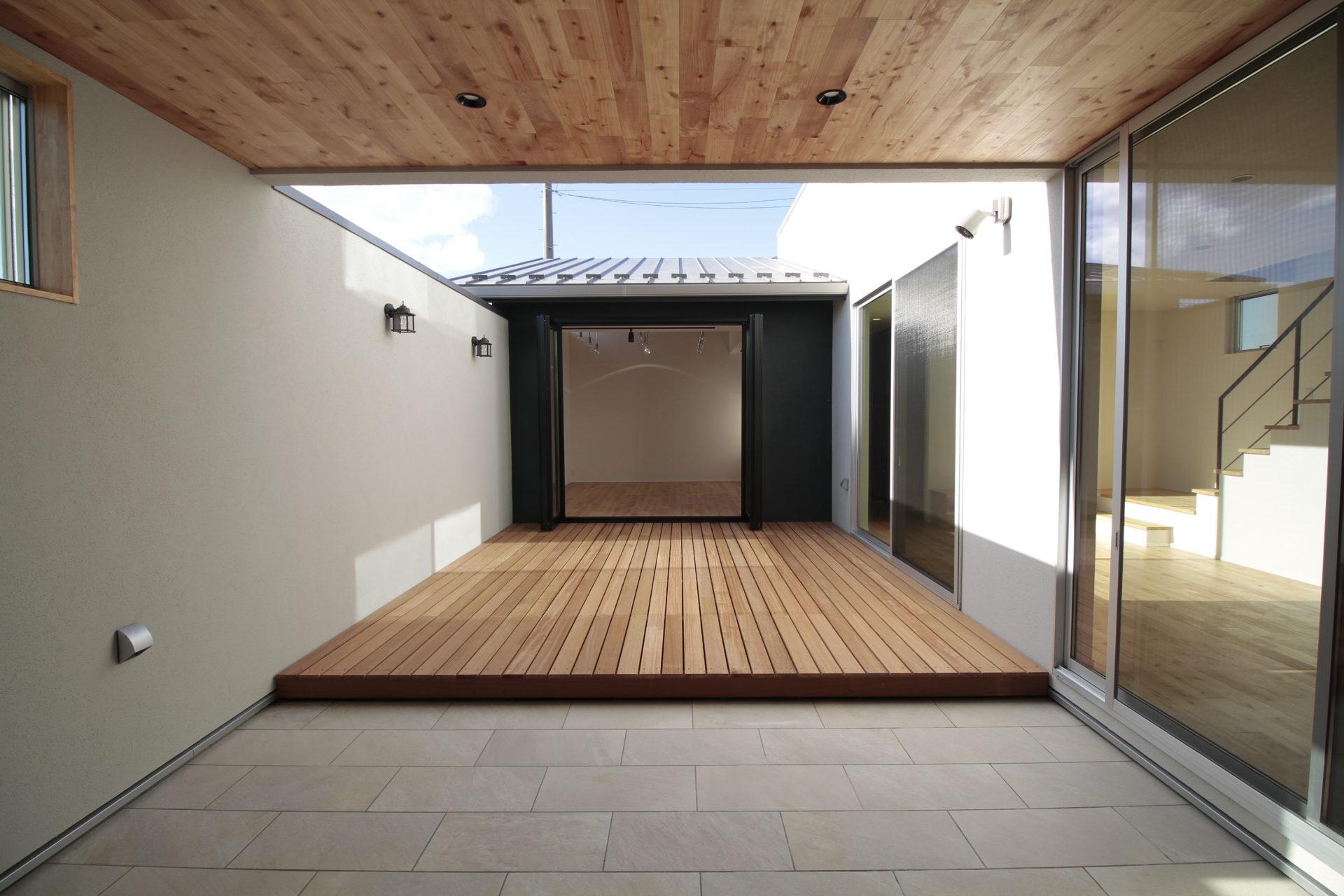 陽光台の家